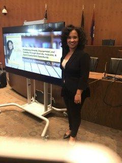 Natasha Bowman Speaking for the City of Detroit